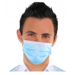 Surgical Face Mask 3 Ply ASTM Level 2 Hospital Grade Pack of 50 Pieces