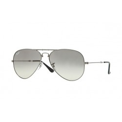 Ray-Ban  Folding Aviator  Sunglasses RB3479    Gunmetal Frame With  Light Grey Lens Sunglasses