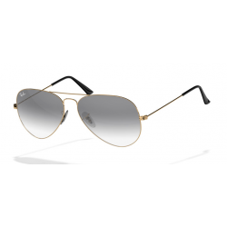 Ray-Ban Aviator  Sunglasses RB3025  Gold Frame With Black Gradient  Lens Sunglasses