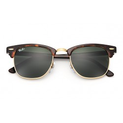Ray-Ban Clubmaster Sunglasses RB3016  Model W0366 Tortoise Frame