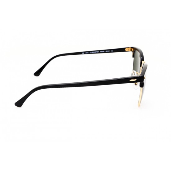 Ray-Ban Clubmaster Sunglasses RB3016  Model W0365 Black Frame