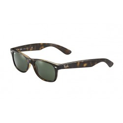 RAY-BAN RB2132 New  Wayfarer Classic  Tortoise  Frame With Green Lens