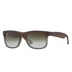 RAY-BAN RB4165 Justin 854/7Z Matte Brown Frame