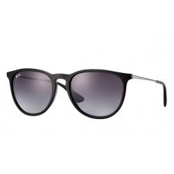 Ray-Ban  Erika  Sunglasses RB4171  Model 622/8G  Black  Frame With  Grey Gradient  Lens Sunglasses