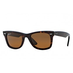 RAY-BAN RB2140 Original Wayfarer  Lens Model  902/57  With Tortoise Frame- Polarised  Brown Lens