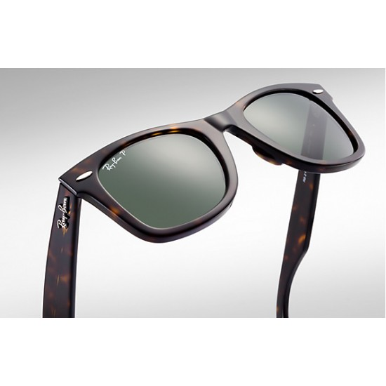 RAY-BAN RB2140 Original Wayfarer Polarised Lens Model  902/58  With Tortoise Frame
