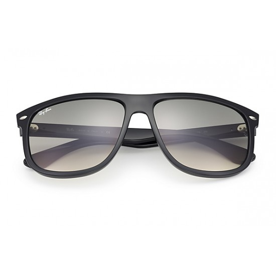 RAY-BAN RB4147 Model 601/32 Black Frame With Light Grey Gradient Lens