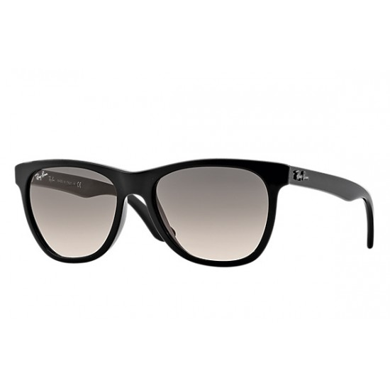 RAY-BAN RB4184 Model 601/32 Black Frame With Light Grey  Gradient Lens
