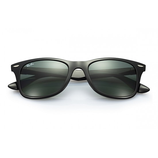 RAY-BAN RB4195  Wayfarer Liteforce  Model 601/71  Black Frame With Polarised Lens