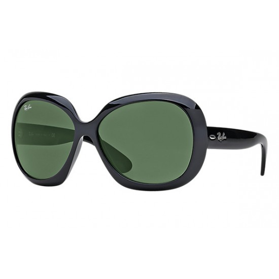 RAY-BAN Jackie OHH II RB4098 Model 601/71 Black Frame With Green Classic Lens