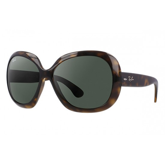 RAY-BAN Jackie OHH II RB4098 Model 710/71 Tortoise Frame With Green Classic Lens